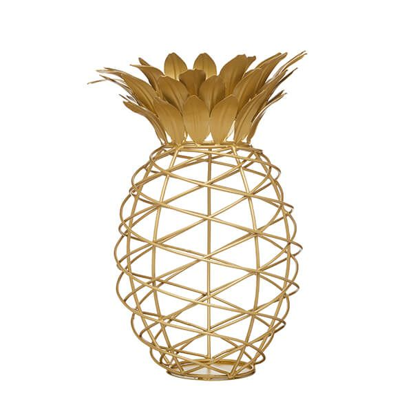 BarCraft Gold Finish Pineapple Cork Collector