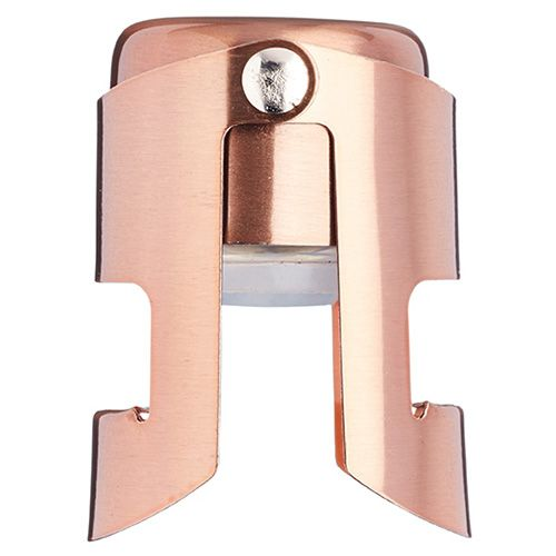 BarCraft Luxe Lounge Copper Champagne Stopper