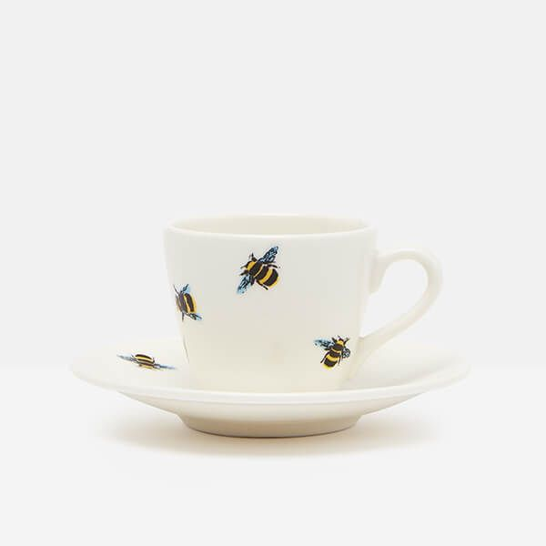 Joules Bee Espresso Cup And Saucer