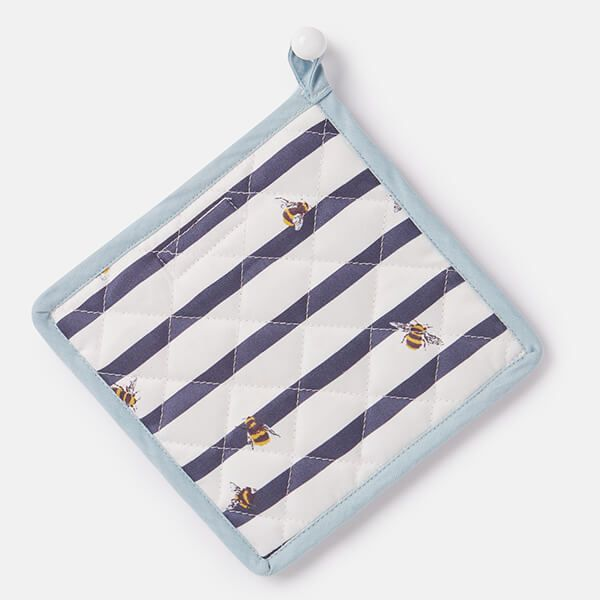 Joules Bee And Striped Pan Grab