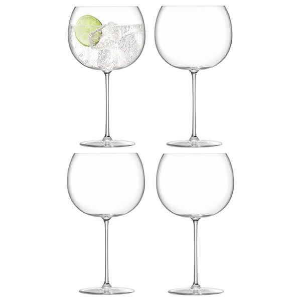 LSA Borough Balloon Glass 680ml Set Of 4