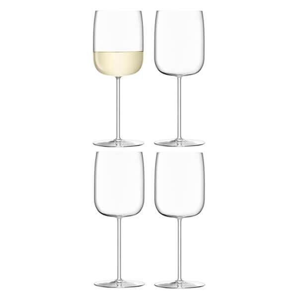 LSA Borough Wine Glass 380ml Set Of 4