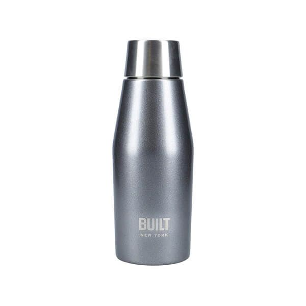 Built Apex 330ml Perfect Seal Water Bottle Charcoal