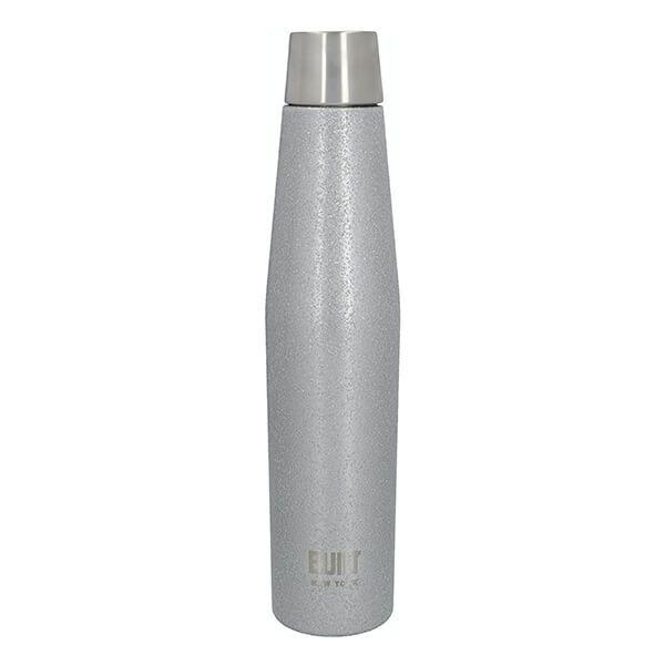 Built Apex 540ml Perfect Seal Water Bottle Silver Glitter