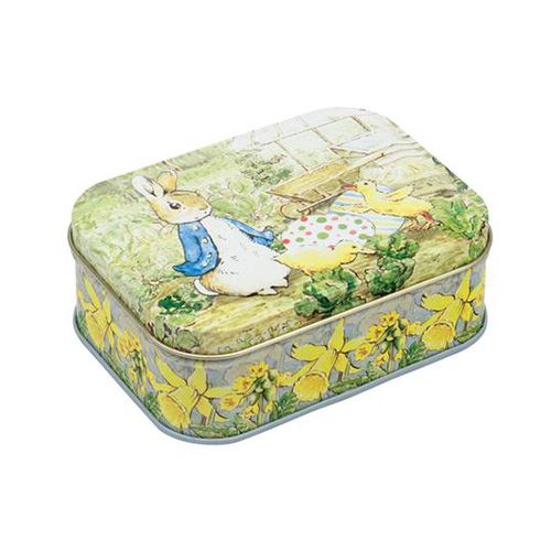 Peter Rabbit Small Rectangular Tin