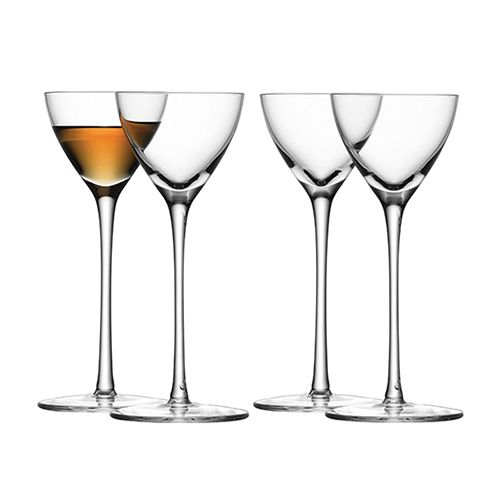 LSA Bar Liqueur Glass Set Of Four