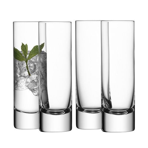 LSA Bar Long Drink Glass Set Of Four