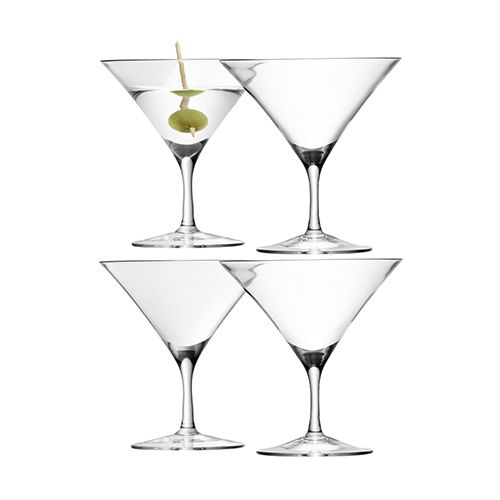 LSA Bar Martini Glass Set Of Four