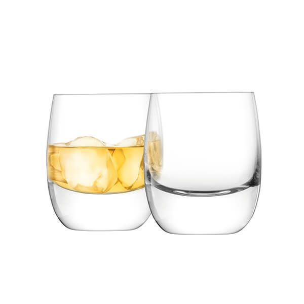 LSA Bar Whisky Tumbler 275ml Clear Set Of Two