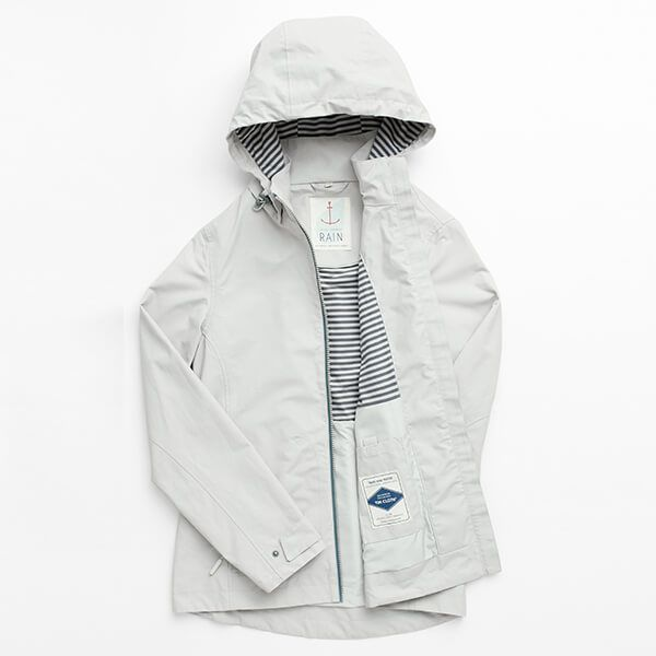 Seasalt Lagoon Jacket Chalk Grey