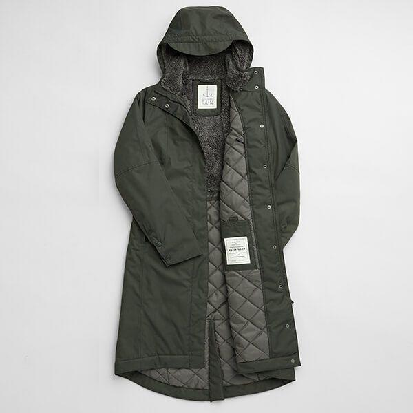Seasalt Janelle Woodland Coat Size 8