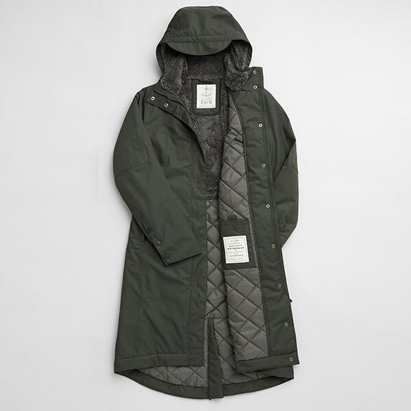 Seasalt Janelle Woodland Coat Size 16