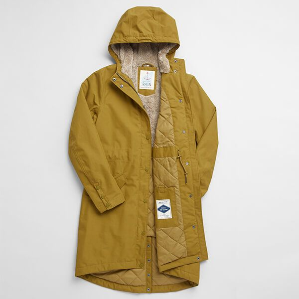 Seasalt Plant Hunter 2 Oak Coat Size 18