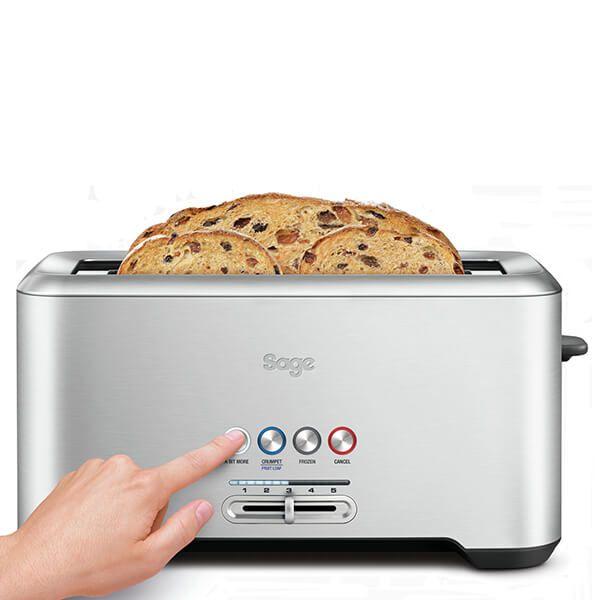 Sage A Bit More 4 Slice Toaster