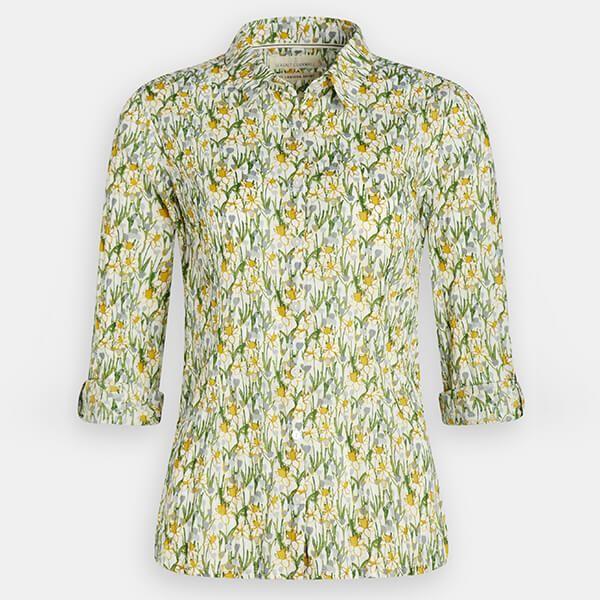 Seasalt Larissa Shirt Spring Border Dill