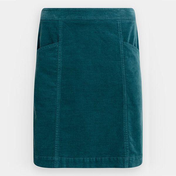 Seasalt Wave Worn Skirt Dark Lake Size 12