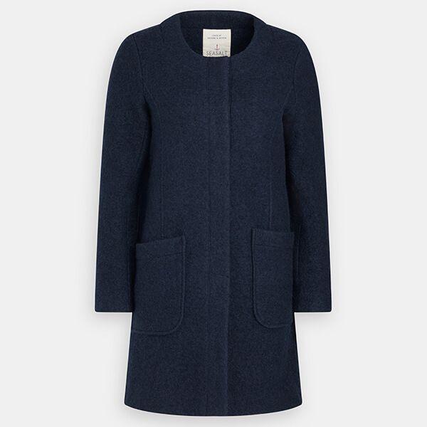 Seasalt Charcoal Burner Coat Fathom