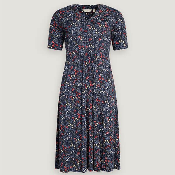 Seasalt Quinn Dress Winifred's Border Waterline Size 24