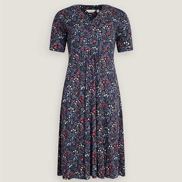 Seasalt Quinn Dress Winifred's Border Waterline Size 14