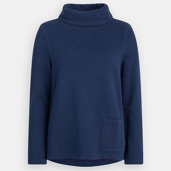 Seasalt Walled Garden Sweatshirt Dark Indigo Wash