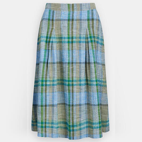 Seasalt Sandbank Skirt Field Atlas Heath Size 16
