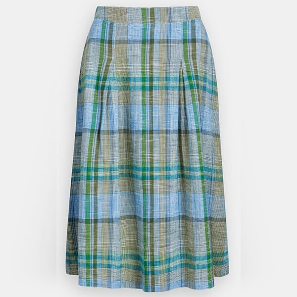 Seasalt Sandbank Skirt Field Atlas Heath Size 12