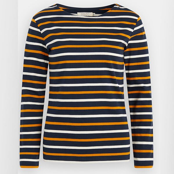 Seasalt Sailor Shirt Duet Midnight Spice Size 18