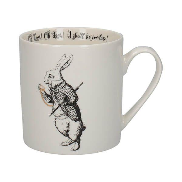 Alice In Wonderland White Rabbit Mug