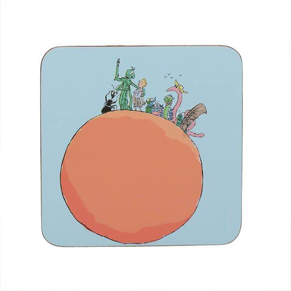 Roald Dahl James And The Giant Peach Single Coaster