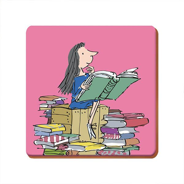 Roald Dahl Matilda Single Coaster