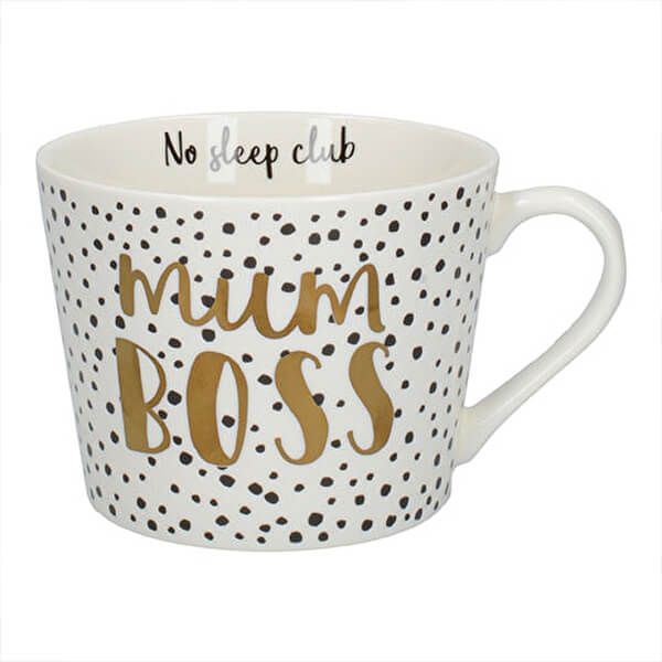 Ava & I Mum Boss Squat Conical Mug
