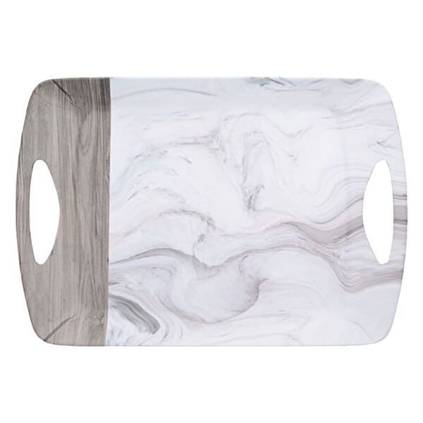 Creative Tops Marble Large Luxury Handled Tray