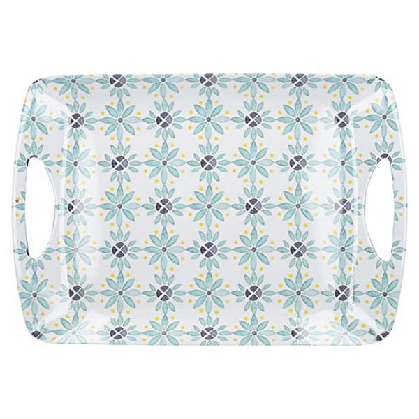 Creative Tops Green Tile Large Luxury Handled Tray