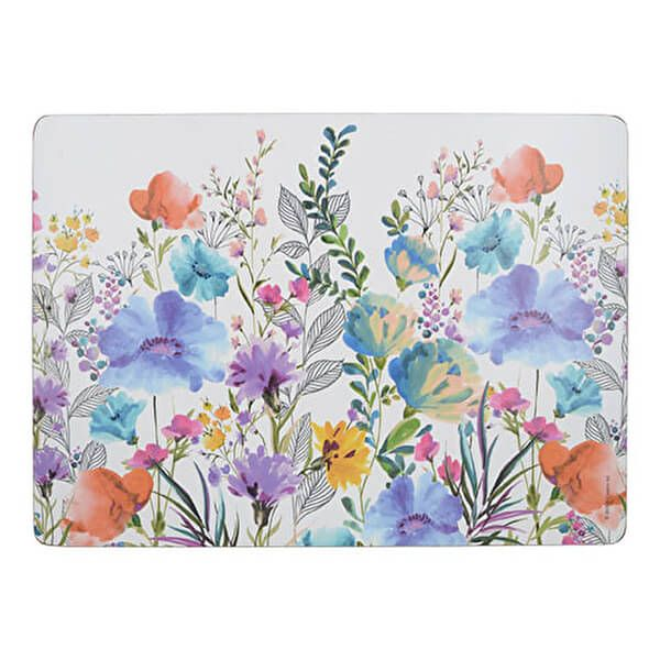 Creative Tops Meadow Floral Pack Of 4 Large Placemats