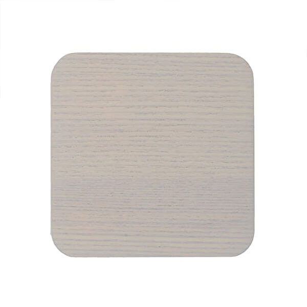 Creative Tops Naturals Wood Veneer Pack Of 4 Coasters Grey