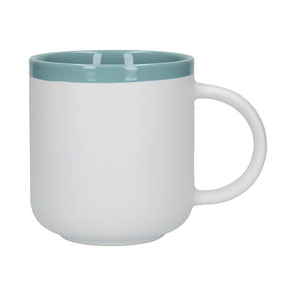 La Cafetiere Barcelona 480ml Latte Mug Retro Blue
