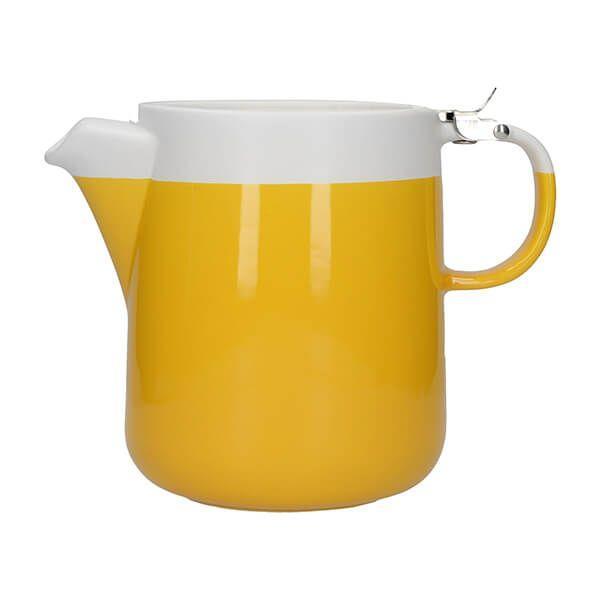 La Cafetiere Barcelona 1200ml Teapot Mustard