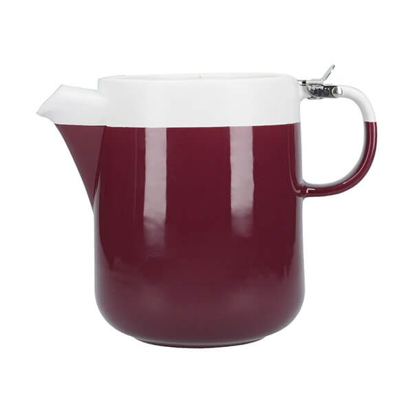 La Cafetiere Barcelona 1200ml Teapot Plum