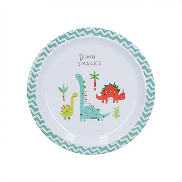 Creative Tops Hungrysaurus Kids Plate