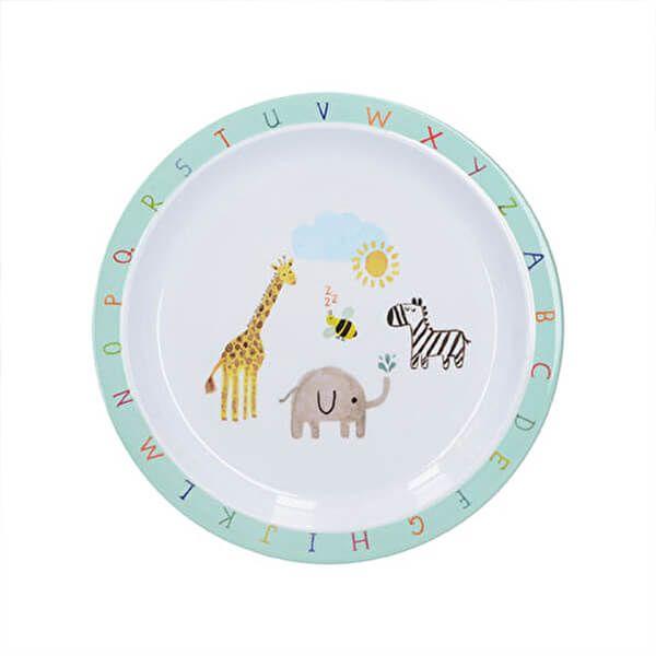 Creative Tops Alphabet Kids Dinner Plate