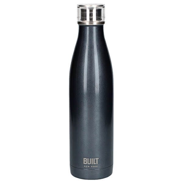 Built 740ml Double Walled Stainless Steel Water Bottle Charcoal