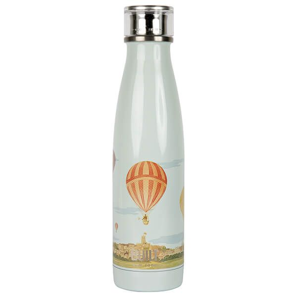 Built V&A 500ml Double Walled Stainless Steel Water Bottle Hot Air Balloon