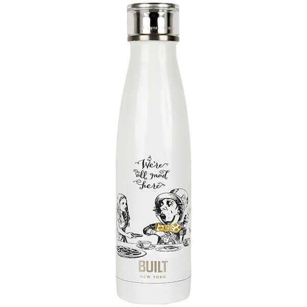 Alice In Wonderland Double Walled Stainless Steel Water Bottle 500ml