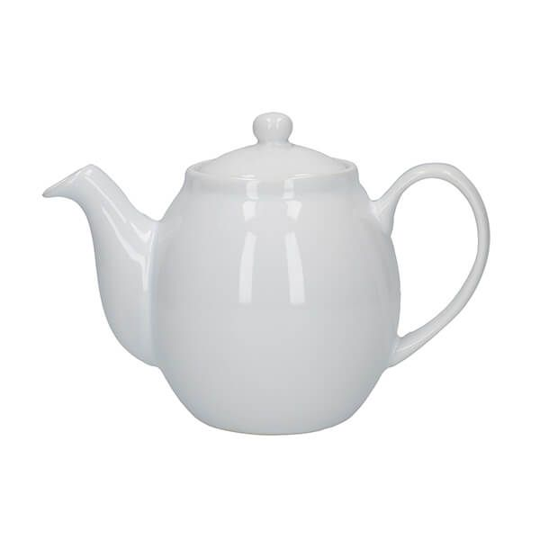London Pottery Prime 2 Cup Teapot White