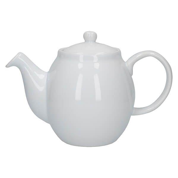 London Pottery Prime 4 Cup Teapot White