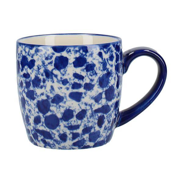 London Pottery Splash Globe Mug Blue