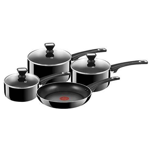 Jamie Oliver Hard Enamel Essential 4 Piece Pan Set