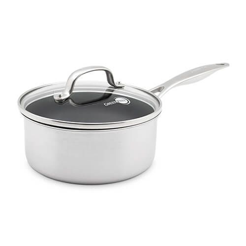 GreenPan Elements Non-Stick 18cm Saucepan