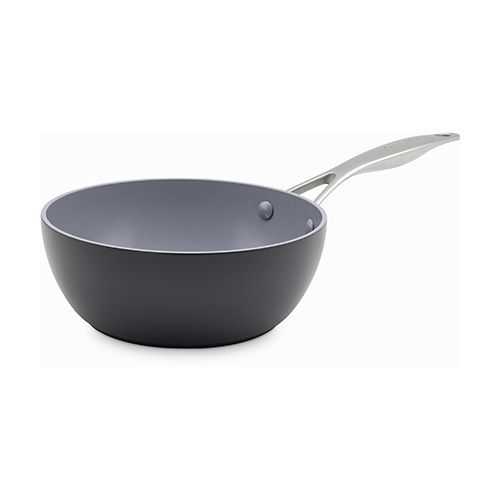 GreenPan Venice Pro Hard Anodised Ceramic Non-Stick 20cm Chefs Pan