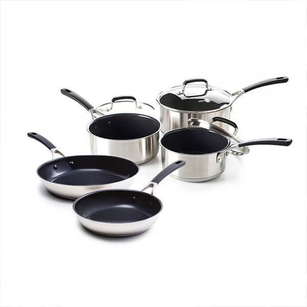 GreenPan Minneapolis 5 Piece Cookware Set